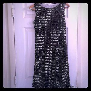 NY&Co Print Fit & Flare Dress